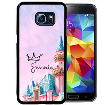 PERSONALIZED CASE FOR SAMSUNG S9 S8 S7 S7 S6 PLUS RUBBER COVER PRINCESS ... - $13.98