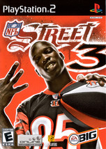 NFL Street 3 Playstation 2 PS2  Complete CIB - $16.00