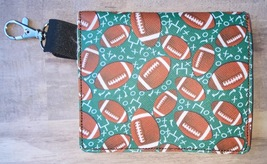Clip on Football Snap backback mask bag - $6.50