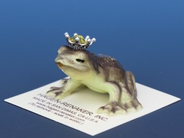 Birthstone Frog Prince Kissing November Citrine Miniatures by Hagen-Renaker image 1