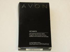 Avon Nail Experts Nail Enamel Remover wipes 10 wipes nail polish mani pedi - $10.67