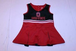 Toddler Girls Ohio State Buckeyes 2T Cheerleader Cheer Outfit Dress Team... - $18.69