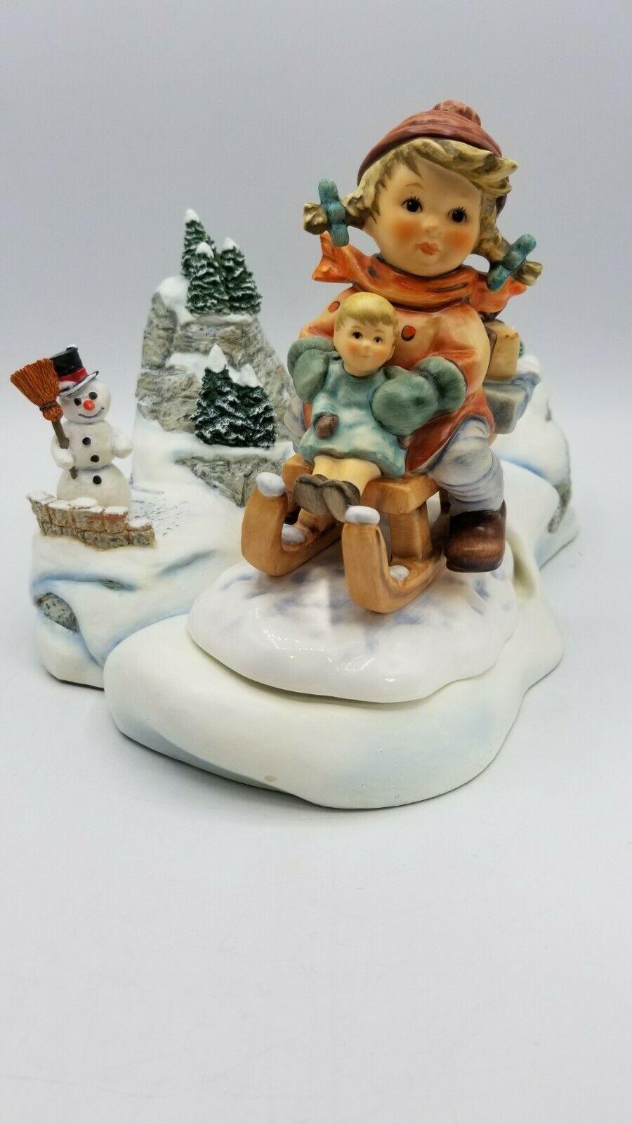 Hummel Christmas Delivery 1210 & 2014/I Set Winter Wonderland Hummelscapes Base - $188.05