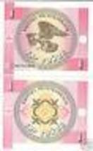 Kyrgyzstan 1 Tyiyn Super Aquila Banconota UNC ~ Inc - $2.66
