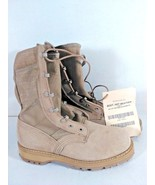 Hot Weather Boot Type 2 US Army Military Tan Desert Combat 5.5 W - $49.95