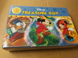 Disney Treasure Box 4-Book set (2018 slipcase) New! - $20.00