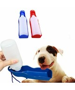 Hoomall® 250ML Blue Dog Water Bottle Puppy Dog Feeder Container Folding ... - $4.78