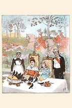 Wasn't it a dainty dish to set before the King by Randolph Caldecott - Art Print - $19.99+