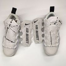 Nike Women's Sz 7 Air More Money Phantom Summit White Snakeskin AO1749-001 - $100.71
