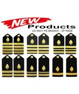 NEW US NAVY AUTHENTIC MEDICAL SERVICE SHOULDER BOARDS RANKS Hi Quality C... - $30.20+