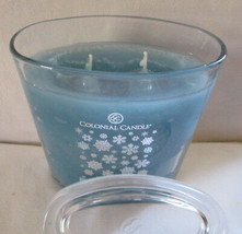 22 oz Colonial Candle~SNOWDAY~  Oval Jar Candle, FREE SHIPPING - $34.50