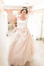 New Arrival Two Pieces Wedding Dresses Simple China Wedding Gowns A Line... - $180.00