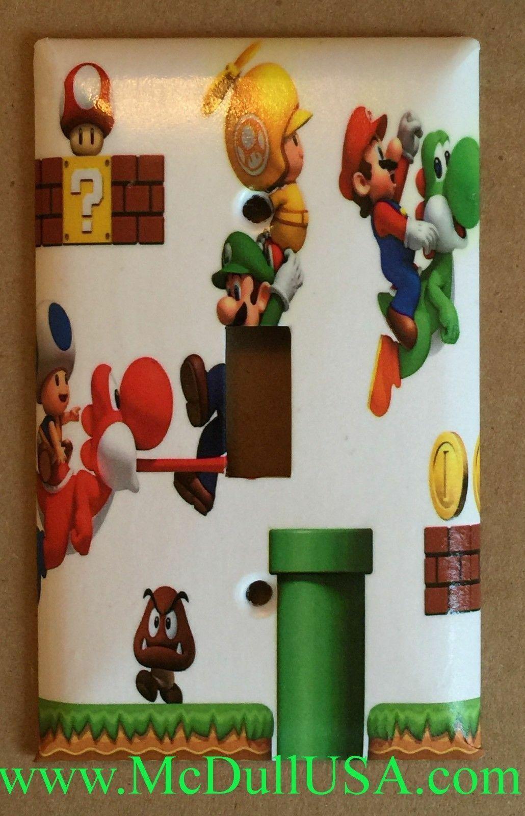 Mario game 3d single toggle