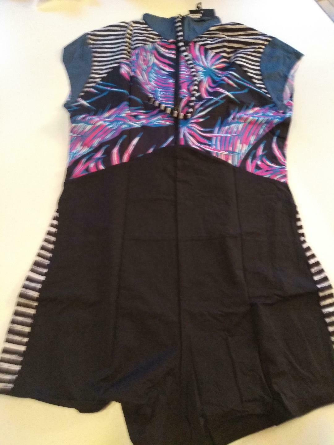Hurley Q/D Koko Surf Suit Zippered Size Large
