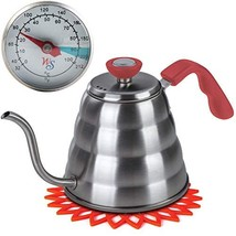 Premium Pour Over Coffee Kettle with THERMOMETER for Precise Temperature... - €35,71 EUR