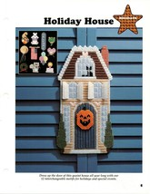 Plastic Canvas Patterns - Holiday House - Holidays - All-Stars - $2.25