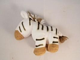 "Manhattan Toy Mini Zebra Plush 4"" 2004 Stuffed Animal - $5.95"