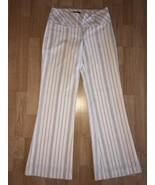 BEBE White Striped Dress Pants Size 2  - $39.59