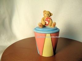 Cherished Teddies Covered Box Birthday Age 5  2001 NIB - $25.69