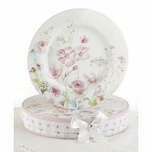 """Delton 8"""" Porcelain 2-Plate Set/Box, Poppyseed - $24.88"""