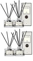 Cocodor Essential Oil Reed Diffuser Black Cherry Scent 200ml 4-Count Reed Stick