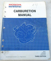 2009 Honda Marine Outboards Third Edition Carburetion Manual TM044 PSV52939-B - $53.98
