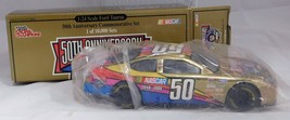 1998 24K Gold 1:24 Scale Ford Taurus NASCAR 50th Anniversary Racing Cham... - $19.00