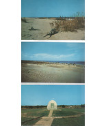 Three Cards-Along North Carolina's Outer Banks 4x6 POSTCARD - $1.75