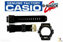 CASIO G-Shock GD-X6900FB-1 Black (Glossy Finish) Rubber BAND & BEZEL Combo - $69.95