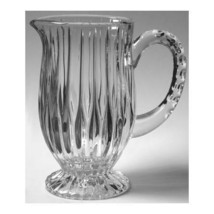 "MIKASA ""PARK LANE"" FOOTED PITCHER 24% LEAD CRYSTAL 36 OZ. MADE IN GERMAN... - $144.90"