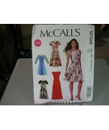 McCall's M7349 Misses Dresses Pattern - Size 6-14 Bust 30 1/2 to 36 - $13.85