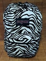 Jansport zebra backpack - $18.80