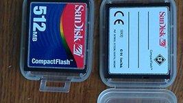 Sandisk CF 512MB (Compact Flash) Card SDCFJ-512 - $29.69