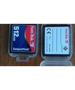SanDisk 512 MB CompactFlash Card - $24.74