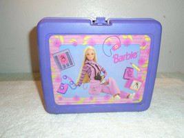 1997 Barbie Thermos plastic lunch box and thermos - $9.89