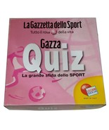 Gazza Quiz Sport Italian Board Game - $20.00
