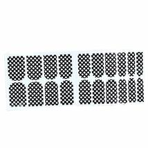 [Set of 2]Easily Apply 12 PCS Salon Artificial Nail Polish Sticker, Cute Dots image 1