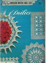Doilies Lily Design Pattern Book No. 201 Vintage Crochet - $6.99