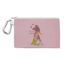 Aurora Sleeping Beauty Disney Dream Quote Canvas Zip Pouch - $15.99+