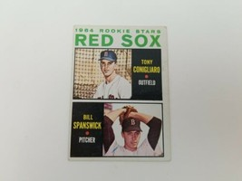 1964 Topps Tony Conigliaro #287 Baseball Card Rookie Stars Vg-Ex No Creases - $15.47