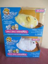 Zhu Zhu Pets Hamsters, Chunk & Pipsqueak, New In Box, 2008 Cepia Llc, Retired - $19.79