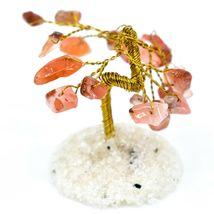Polished Carnelian Gemstone Miniature Gem Tree Mini Gemtree image 3