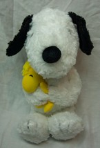 "HALLMARK Peanuts SOFT SNOOPY HUGGING WOODSTOCK 10"" Plush Stuffed Animal - $19.80"