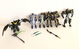Power Ranger Lot 2003-2007 With Weapons - $39.59