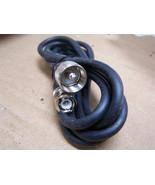 UHF Male Pl-259 to BNC Male RG59/U Coax 75ohm Cable video ham radio cb s... - $9.89