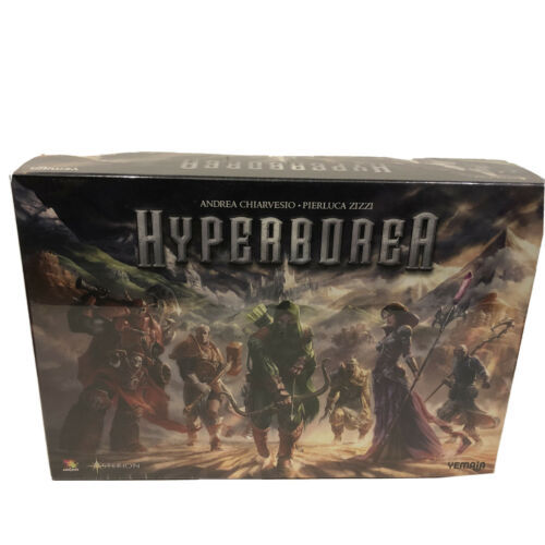 Hyperborea Fantasy Board Game Asterion Press Games NEW - $49.50