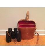 Vintage Binolux 7x50 Binoculars with Leather Carrying Case Japan - $25.00