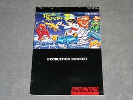 Super Nintendo Snes: Pocky & Rocky 2 [Instruction Book Manual Only] Authentic! - $229.00