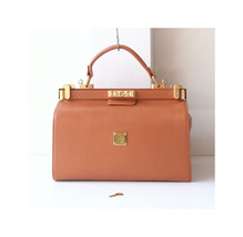 Vintage MCM Brown Leather Doctor Bag Authentic Train case Rare - $950.00