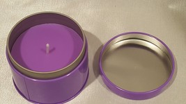 Yankee Candle® Clever Candles 5oz Tin  Purple Blackberry Lavender Vanill... - $9.36